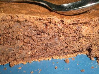 Gateau chocolat amande