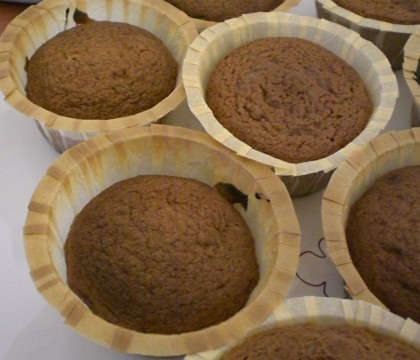muffin au cacao