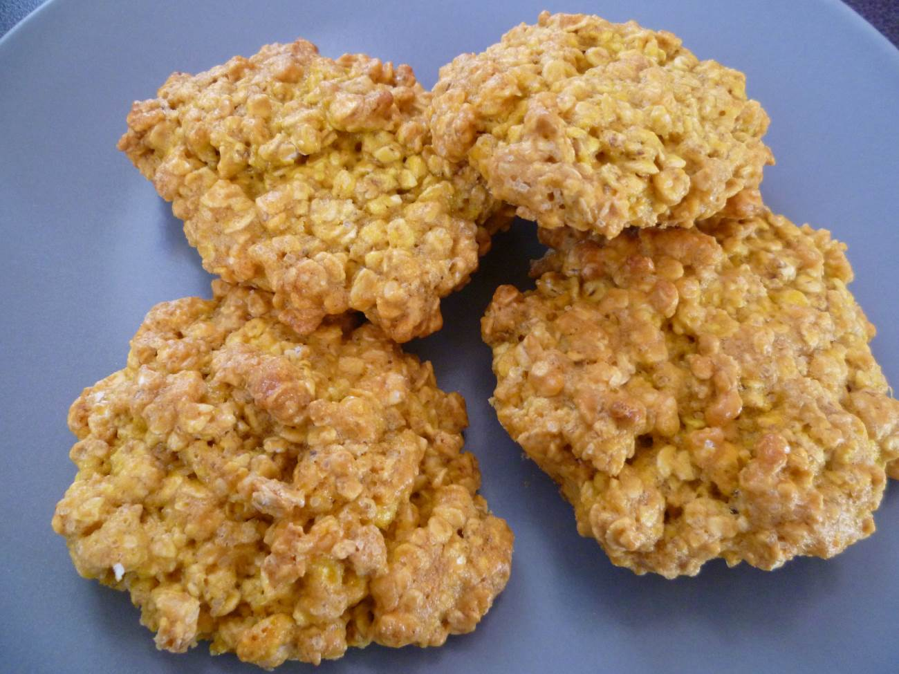 biscuit flocon d'avoine fait maison sans beurre dietetique