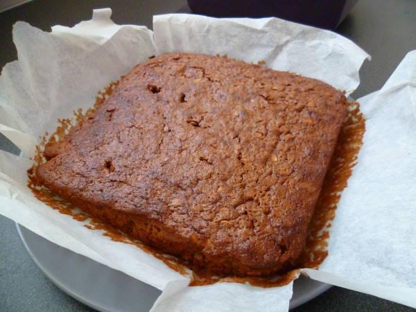 Brownie flocons avoine