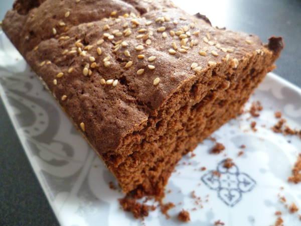cake chocolat graines sesame